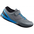 Shimano AM7 Grey Blue MTB SPD Shoes