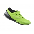 Shimano AM7 Lime green MTB SPD shoes