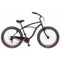 Bicicleta Sun Bicycles Baja Cruz 7v Negro Mate