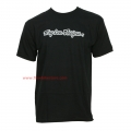 Camiseta Signature Troy Lee Designs Negro