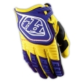 Guantes Troy Lee Designs GP Amarillo Morado
