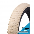 Cubierta Fat Vee Tire Bulldozer 26x4.70 beige plegable tubeless ready