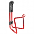 Red Anodized Aluminum Bottle Cage