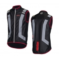 Wowow Flandrien Negro/Rojo Vest with light