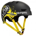 Casco Bluegrass Superbold Negro Graffiti 2012