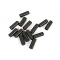 Topes Funda Freno 5mm plastico Negro (5 uni.)
