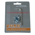 Torx L Wrench + 6 disc screws kit Alligator